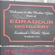 distillerie Edradour à Pitlochry