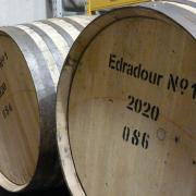 fûts de la distillerie